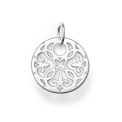 Glam & Soul Sterling Silver Anhänger Ornament