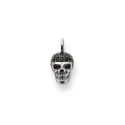 Rebel at Heart Sterling Silver Anhänger Totenkopf