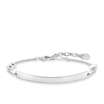 "Love Bridge Armband ""Herz mit Infinity"""
