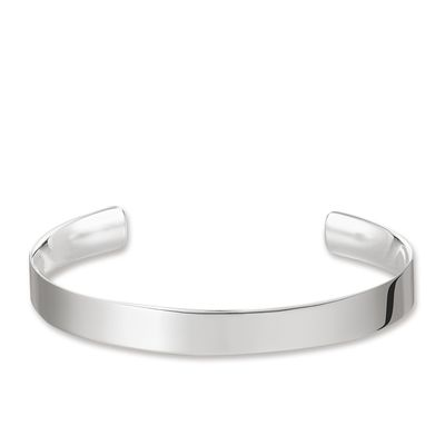 "Glam & Soul Sterling Silver Armreif ""Love Cuff\"""