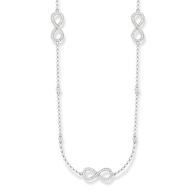 Glam & Soul Sterling Silver Collier