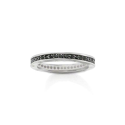 Glam & Soul Sterling Silver Eternity Ring