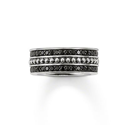 Rebel at Heart Sterling Silver Eternity Ring