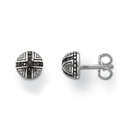Rebel at Heart Sterling Silver Ohrstecker