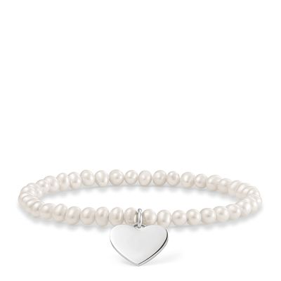 "Love Bridge Perlenarmband ""Herz"""