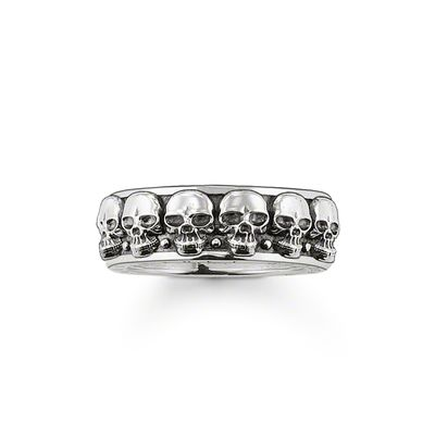 Rebel at Heart Sterling Silver Ring