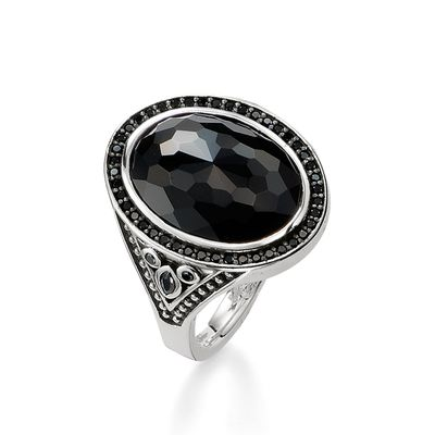 Glam & Soul Sterling Silver Ring