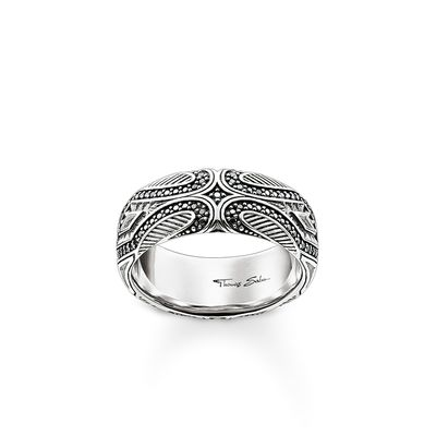 "Rebel at Heart Sterling Silver Ring ""Maori"""